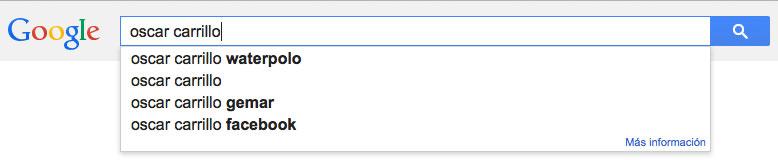 mi nombre en google