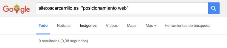 buscar con comillas google