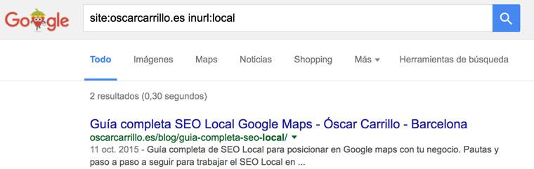 truco inurl google